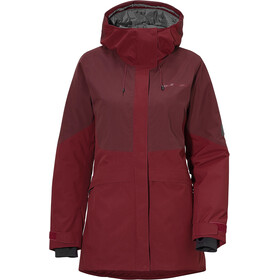 Didriksons 1913 Alta 2 Chaqueta Mujer, anemon red